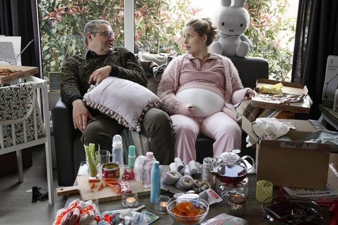 Frank Lammers (Gerri) en Sanne Langelaar (Anneke)