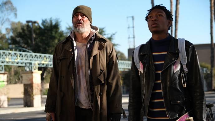 Joe Manganiello (Max Fist) en Skylan Brooks (Hamster)