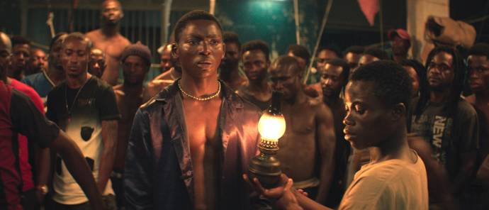 Bakary Koné (Roman) in Night of the Kings