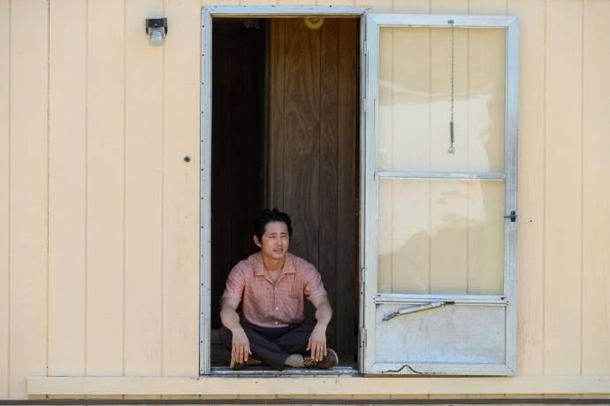 Steven Yeun (Jacob) in Minari