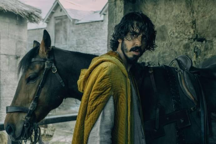 Dev Patel (Gawain) in The Green Knight