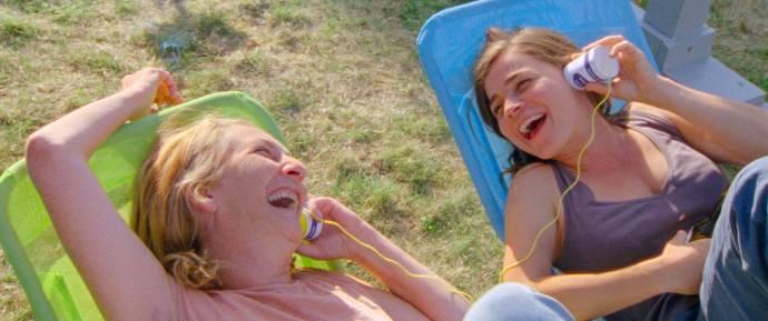 Corinne Masiero (Christine) en Blanche Gardin (Marie)