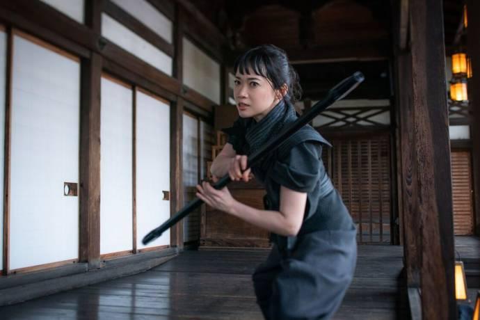 Haruka Abe (Akiko) in Snake Eyes