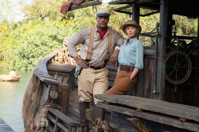 Dwayne Johnson (Frank) en Emily Blunt (Lily Houghton)