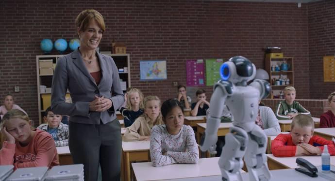 Ilse Warringa (Juf Ank) in Luizenmoeder - De Film