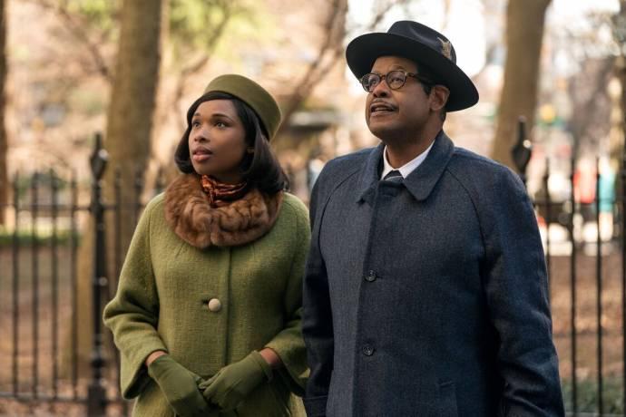 Jennifer Hudson (Aretha Franklin) en Forest Whitaker (C. L. Franklin) in Respect