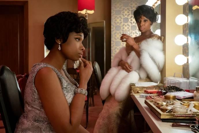 Jennifer Hudson (Aretha Franklin) en Mary J. Blige (Dinah Washington) in Respect