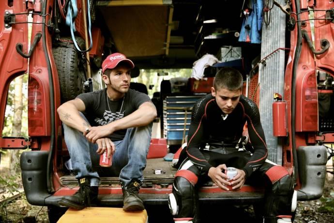 Matteo Simoni (Nicky) en Valentijn Braeckman (Charlie) in Rookie