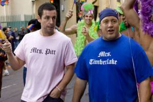 Kevin James (Larry Allensworth) en Adam Sandler (Chuck Ford)