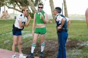 Ben Garant (Deputy Travis Junior (as Robert Ben Garant)), Thomas Lennon (Lieutenant Jim Dangle) en Nick Swardson (Terry)