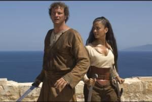 Colin Firth (Aurelius) en Aishwarya Rai (Mira)