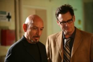 Ben Kingsley (Frank Falenczyk) en Bill Pullman (Dave)