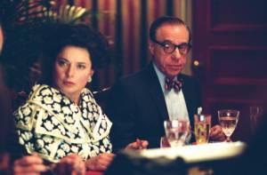 Peter Bogdanovich (Bennett Cerf) en Isabella Rossellini (Marella Agnelli)