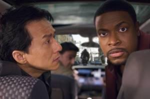 Jackie Chan (Chief Inspector Lee) en Chris Tucker (Detective James Carter)