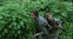 Christian Bale (Dieter) en Steve Zahn (Duane)