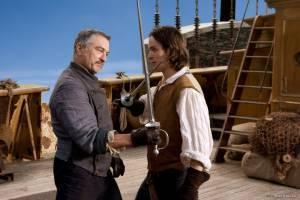 Charlie Cox (Tristran) en Robert De Niro (Captain Shakespeare)