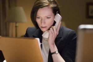 Tilda Swinton (Karen Crowder)