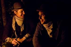 Jeremy Renner (Wood Hite) en Sam Rockwell (Charley Ford)