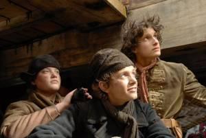 Martijn Hendrickx (Rolf), Pim Wessels (Hajo) en Billy Zomerdijk (Padde)