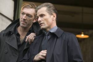 Vincent Cassel (Kirill) en Viggo Mortensen (Nikolai)