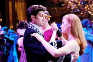 Amy Adams (Giselle) en Patrick Dempsey (Robert Philip)