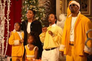 Morris Chestnut (Benjamin), Gabrielle Union (Nancy) en Katt Williams (Delicious)