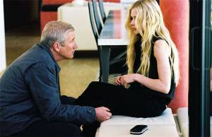 Richard Gere (Erroll Babbage) en Avril Lavigne (Beatrice Bell)
