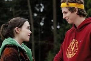 Michael Cera (Paulie Bleeker) en Ellen Page (Juno MacGuff)