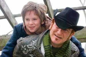 Freddie Highmore (Evan Taylor - 'August Rush') en Robin Williams (Maxwell 'Wizard' Wallace)