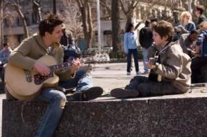 Freddie Highmore (Evan Taylor - 'August Rush') en Jonathan Rhys-Meyers (Louis Connelly)