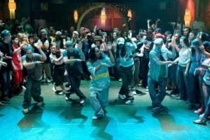 Robert Hoffman (Chase Collins) en Mari Koda (Jenny Kido) in Step Up 2 the Streets