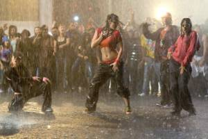 Briana Evigan (Andie), Mari Koda (Jenny Kido) en Danielle Polanco (Missy) in Step Up 2 the Streets