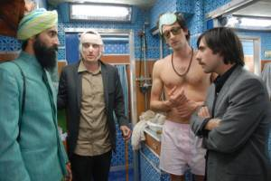 Adrien Brody (Peter Whitman), Jason Schwartzman (Jack Whitman) en Owen Wilson (Francis Whitman)