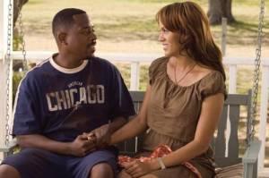 Nicole Ari Parker (Lucinda) en Martin Lawrence (Roscoe Jenkins)