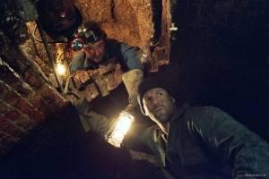 Daniel Mays (Dave Shilling) en Jason Statham (Terry Leather)