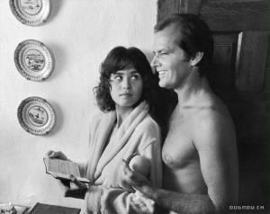 Jack Nicholson en Maria Schneider
