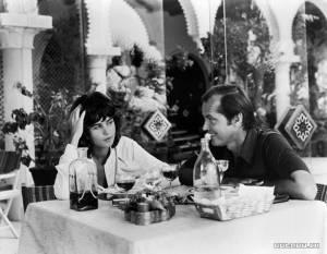 Jack Nicholson en Maria Schneider in Professione: Reporter