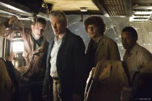 Jesse Eisenberg (Benjamin), Richard Gere (Simon) en Terrence Howard (Duck)