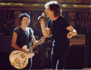 Mick Jagger (Zichzelf) en Keith Richards (Zichzelf)