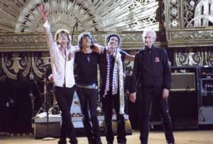 Mick Jagger (Zichzelf), Keith Richards (Zichzelf), Charlie Watts (I) (Zichzelf) en Ron Wood (Zichzelf)