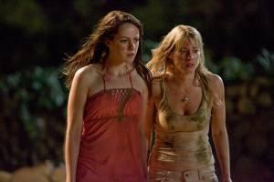 Jena Malone (Amy) en Laura Ramsey (Stacy)