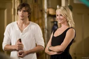Cameron Diaz (Joy) en Ashton Kutcher (Jack)