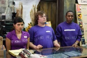 Jack Black (Jerry), Mos Def (Mike) en Melonie Diaz (Alma)