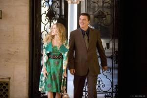 Sarah Jessica Parker (Carrie Bradshaw) en Chris Noth (Mr. Big)