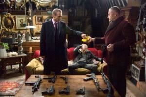 Ralph Fiennes (Harry Waters) en Brendan Gleeson (Ken)