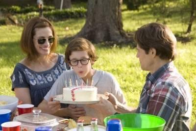 Cayden Boyd (Young Michael Waechter), Willem Dafoe (Charles Waechter) en Julia Roberts (Lisa Waechter)
