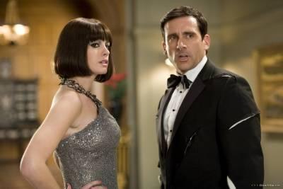 Steve Carell (Maxwell Smart) en Anne Hathaway (Agent 99)