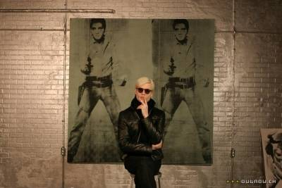 Guy Pearce (Andy Warhol)