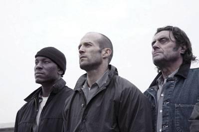 Tyrese Gibson (Machine Gun Joe Mason) en Jason Statham (Jensen Ames)