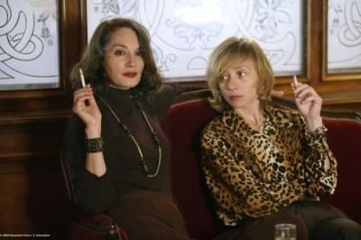 Jeanne Balibar (Peggy Roche) en Sylvie Testud (Françoise Quoirez dite Sagan)